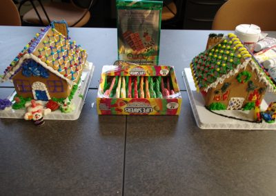 Candycanes and Gingerbread Houses