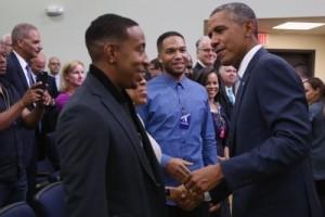 Obama and Ludacris