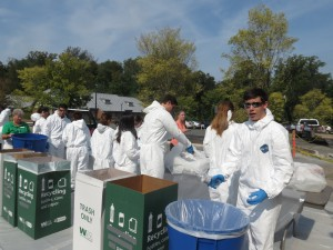 Waste Audit, October 2015