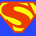 Superman S-Sheild Painting