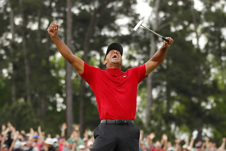 We Needed Tiger Woods To Win The Masters Heroes What They Do Why We Need Them