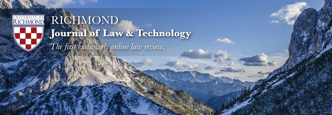 Article richmond journal of law and technology richmond journal of law and technology fandeluxe Images