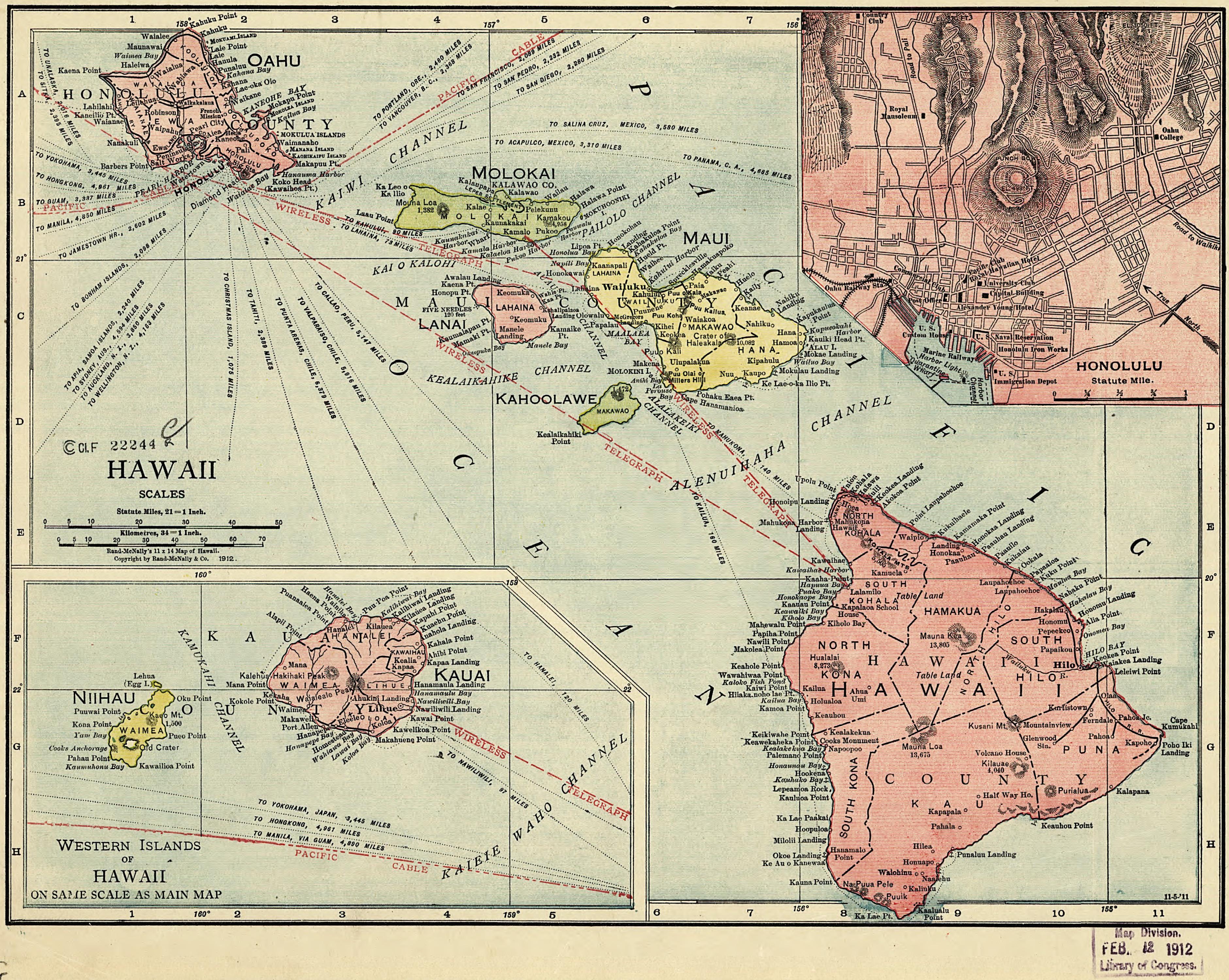 Map Of The Week 2 September 22 29 Rand Mcnally S Hawaii