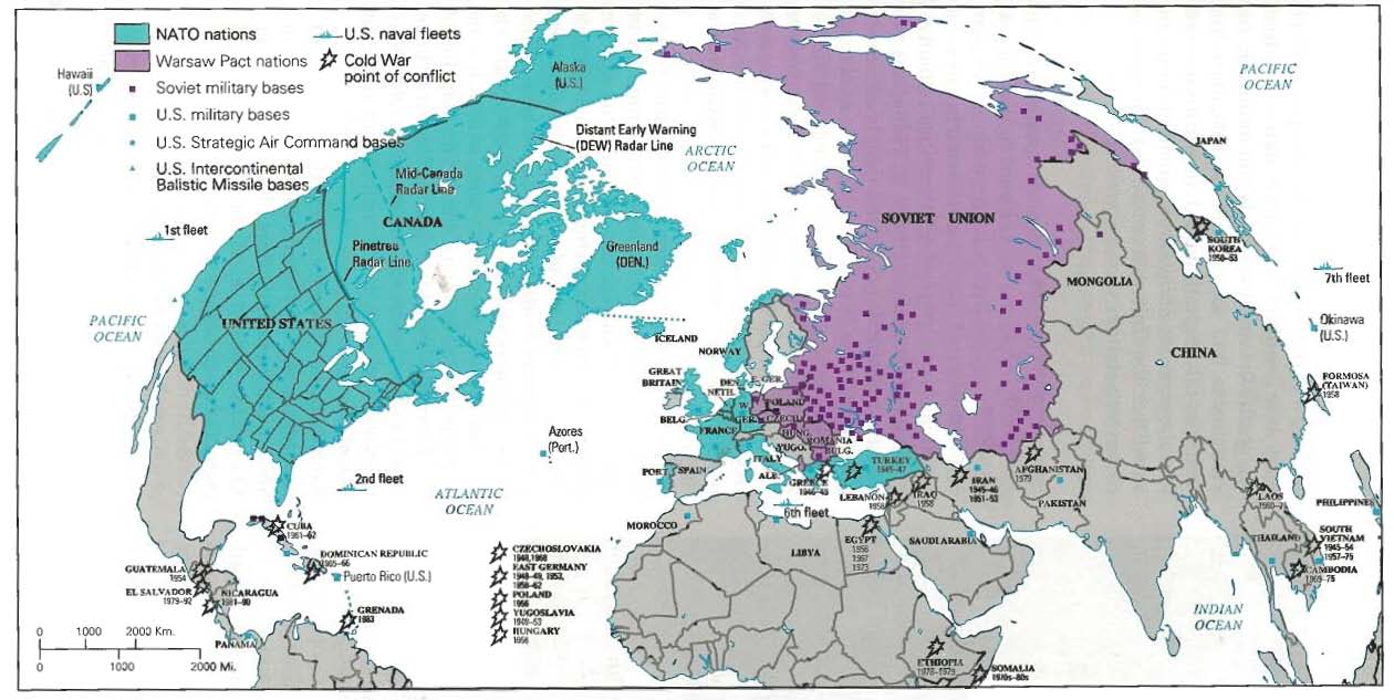 A history of the cold war between the soviet union and the united states