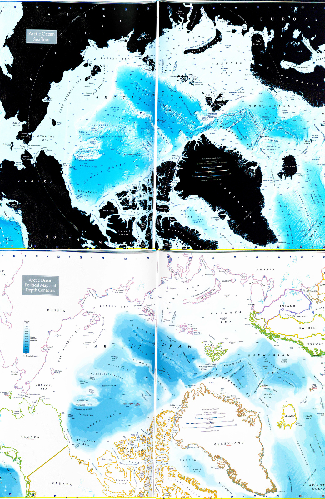 Maps Of The Arctic Ocean Mappenstance