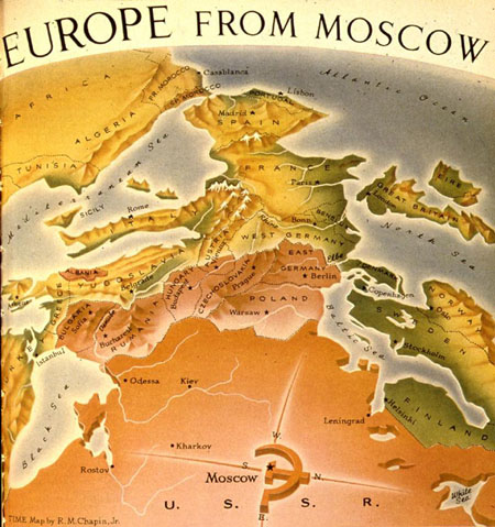 Map Of The Week Europe From Moscow Mappenstance