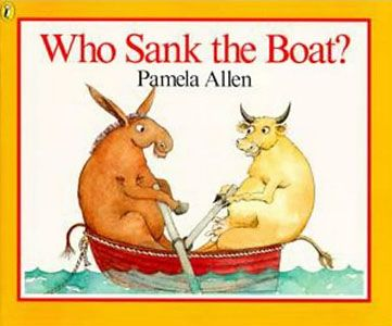Who Sank the Boat? book cover