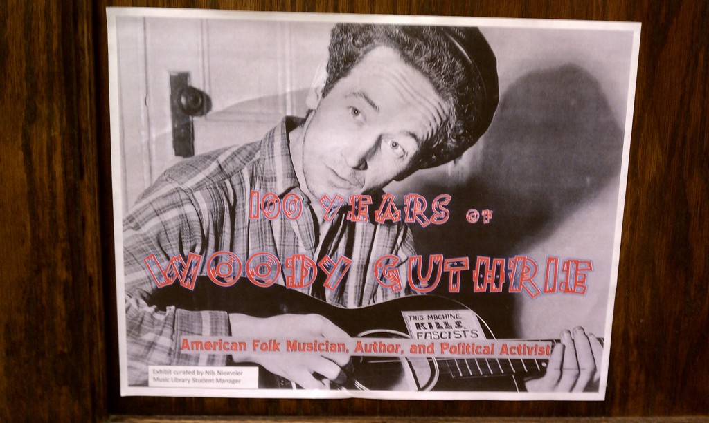 100 Years of Woody Guthrie, cover image