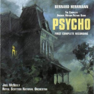 Psycho soundtrack CD cover