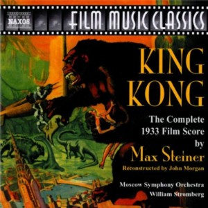 King Kong soundtrack CD