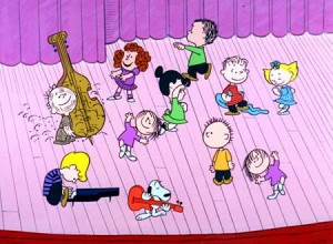 "Peanuts characters dance to Guaraldi's iconic ""Linus & Lucy"""