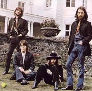 The Beatles photographed in 1969