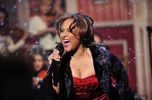 """For the 17th year on the broadcast, singer Darlene Love, who was recently chosen for induction into the Rock and Roll Hall of Fame's class of 2011, perform her classic, """"Christmas (Baby Please Come Home),"""" on the LATE SHOW with DAVID LETTERMAN, Thursday, Dec. 23 on the CBS Television Network.  Photo: John Paul Filo/CBS ©2010 CBS Broadcasting Inc. All Rights Reserved"""