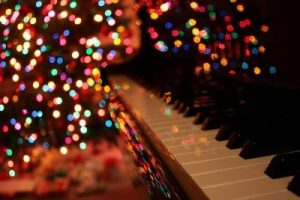 Lights and piano