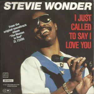 Stevie Wonder single