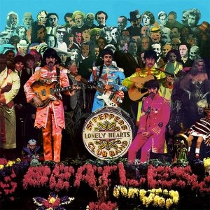 An alternate take from the Sgt. Pepper cover photo session
