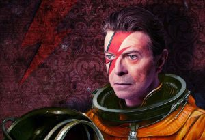 Bowie - astronaut
