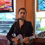 Samantha Pearl shown here performing at Crossroads in Richmond.