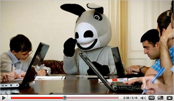 Donkey news conference