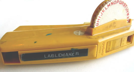 1970s Dymo Label Maker