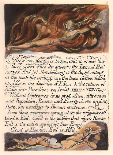 Blake's Marriage of Heaven and Hell
