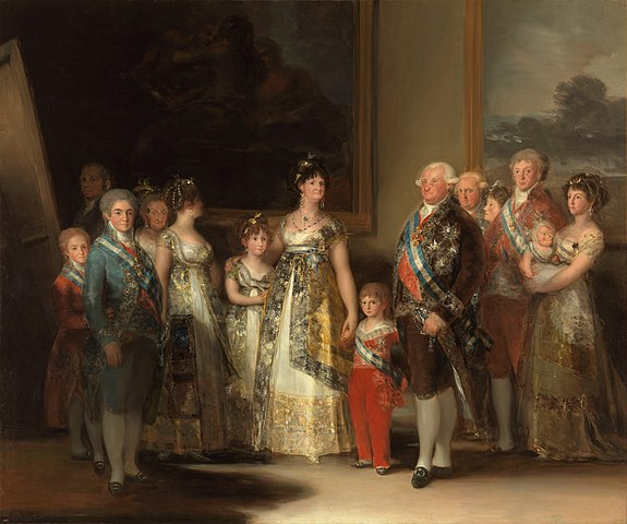 Goya's Charles IV of Spain and His Family