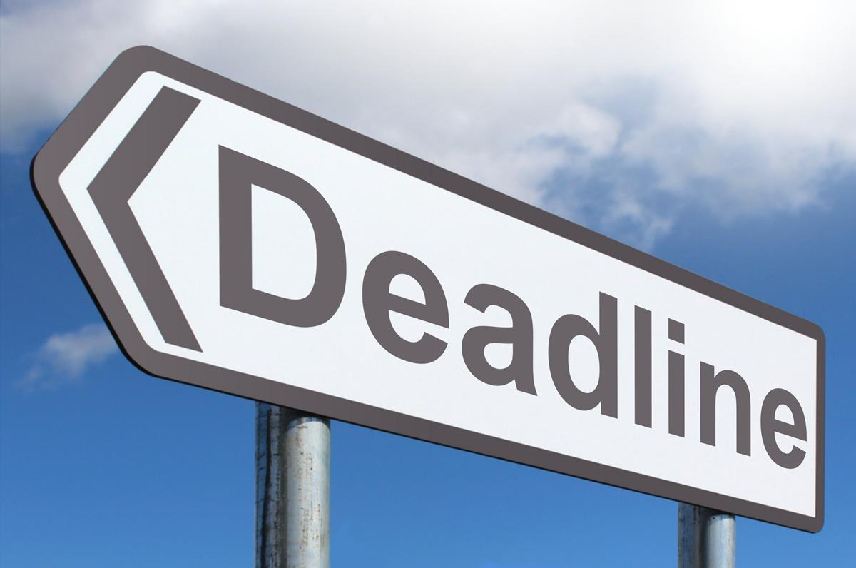 Deadline Sign