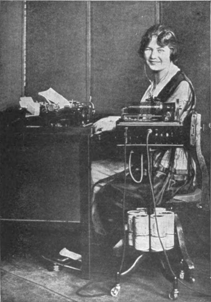 dictaphone operator