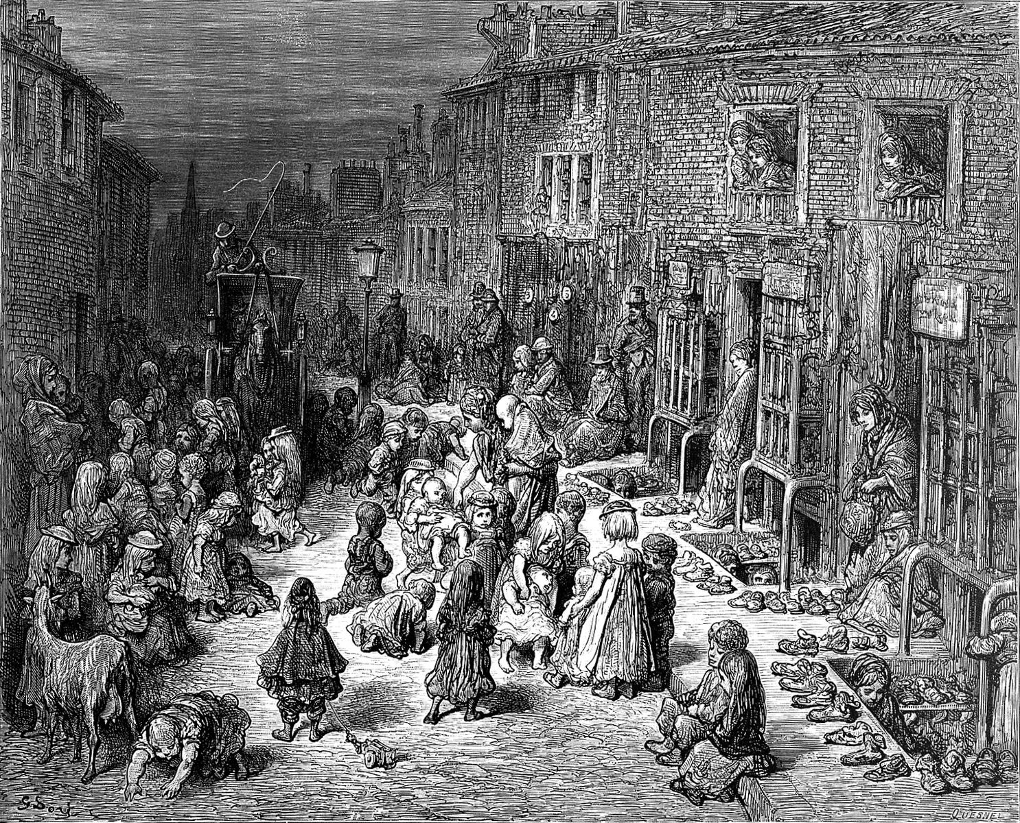 London Slums: Dudley Street