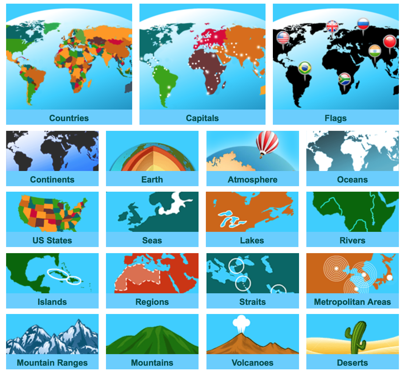 World Geography Games Geography - World geography countries