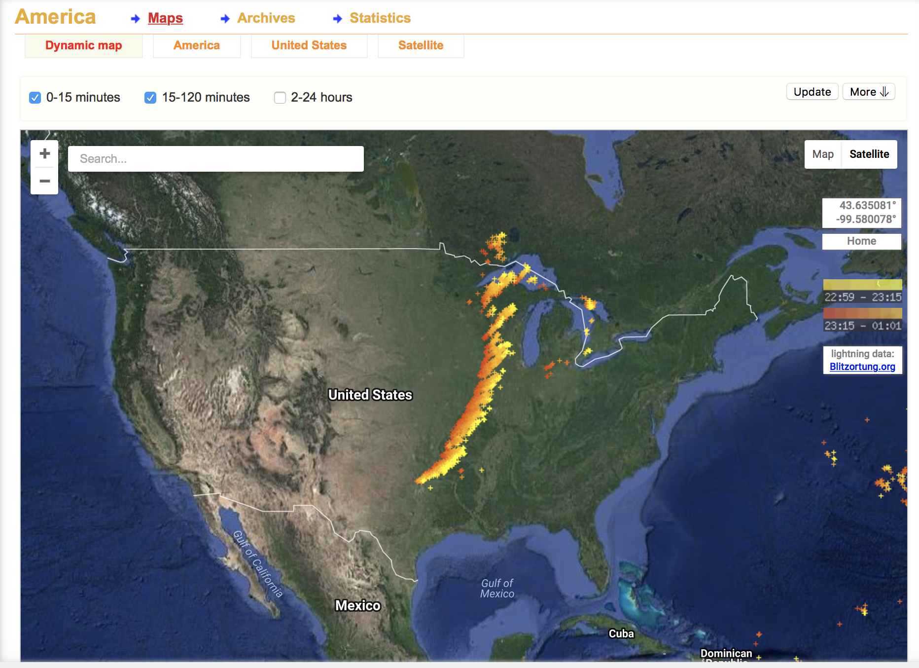 tracking lightning geography 250