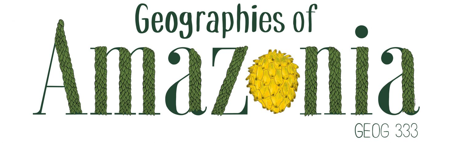 GEOG 333: Geographies of Amazonia