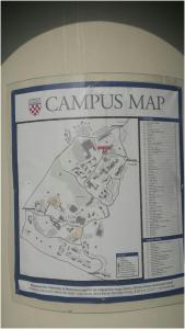 campus map kiosk