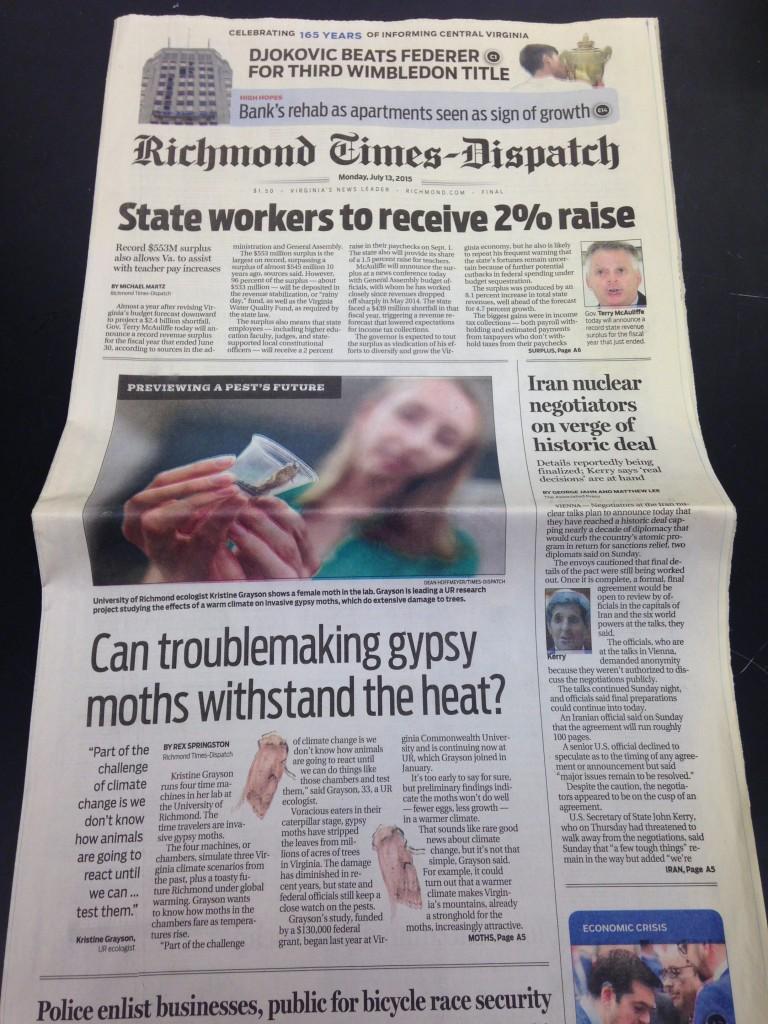 Richmond Times-Dispatch July 2015