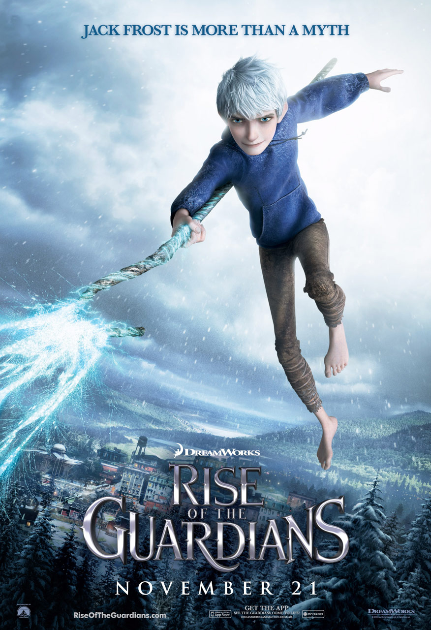 rise of the guardians 2012 hollywood movie poster heroes what