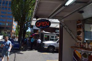 Food Trucks in Portland.