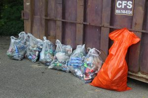 Not even a quarter of that day's trash haul- so upsetting :/