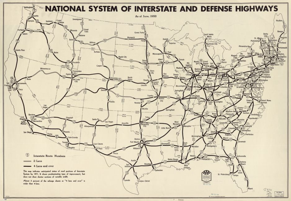 federal highway system essay Sherman, bradford p, racial bias and interstate highway planning: a mixed methods approach 01 january 2014 originally conceived as a method of movement for soldiers in time of war, the highway system has morphed after a discussion of this history, the essay will enter the territory of a quantitative analysis.