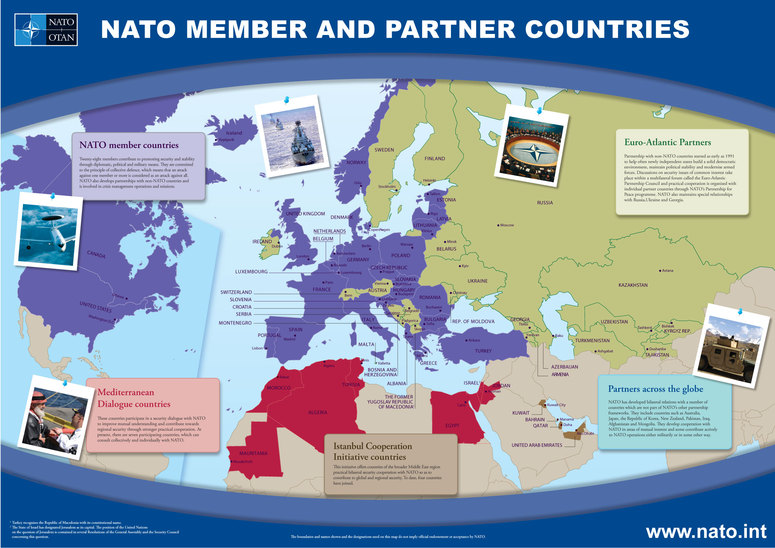 nato members and partners
