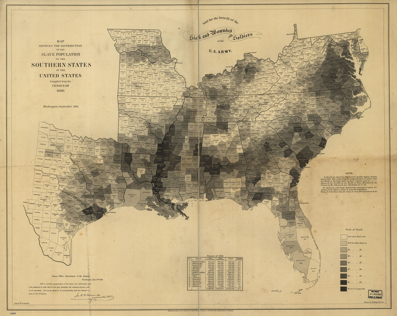 The Statistics of Slavery  Mappenstance