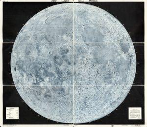 USAF Lunar Wall Mosaic