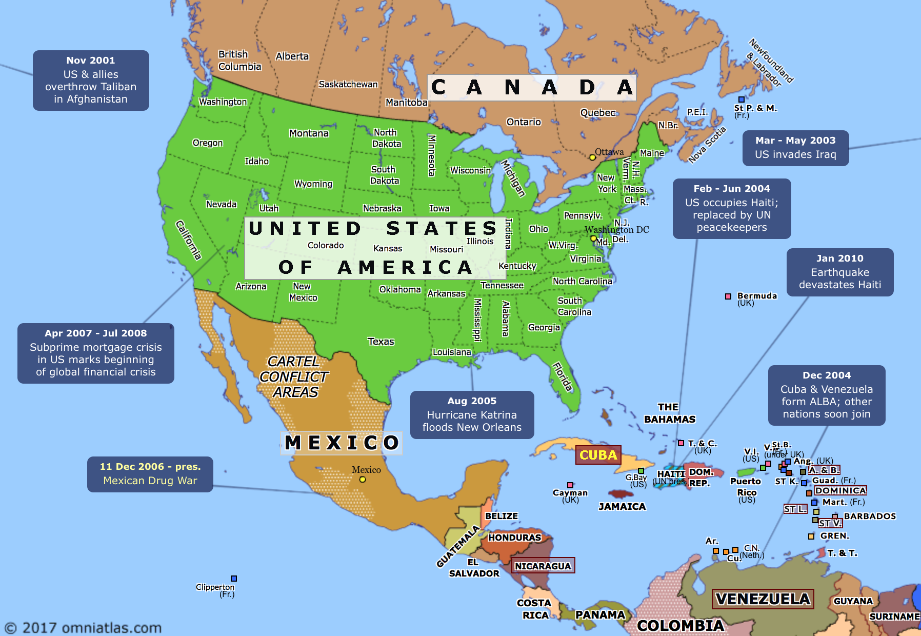 Map Of America History.Atlas Of The Week Historical Atlas Of North America Mappenstance