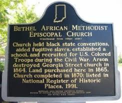 Bethel AME Historical Landmark-Side 2