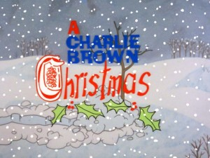 A Charlie Brown Christmas - Title Card