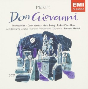 "Mozart's opera  ""Don Giovanni"" premiered in 1787.  This is but one of many recordings."