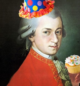 Mozart's birthday