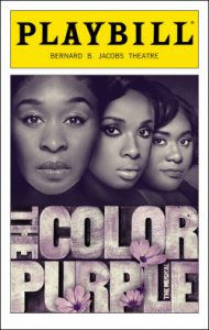 Playbill - The Color Purple