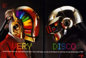 """Promotional material for """"Discovery"""" (2001)"""