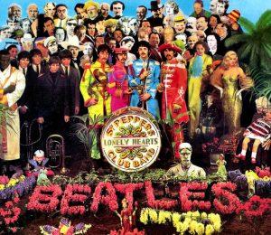 Beatles - Sgt. Pepper album cover