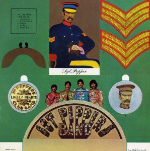 Sgt. Pepper cut outs insert